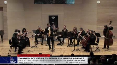 Saxophone Concerto by Andelko Igrec - Miha Rogina #adolphesax
