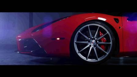 Vossen Forged VPS-310 Wheels &Ferrari 488 GTB _ Novitec Rosso _