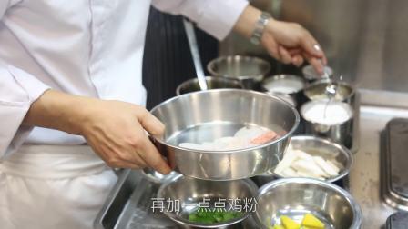 云南鲜松茸菌炒红东星斑球