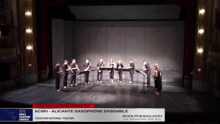 Sureste by Sixto Herreros - Ensemble de Saxofones de Alicante #adolphesax