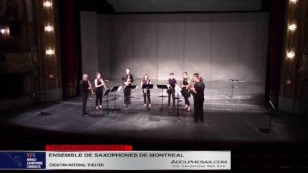 Seokgamoni Bul by Alexandre David - Ensemble de Saxoph de Montreal #adolphesax