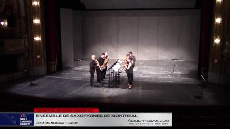 Musique Contextuelle - Ensemble de Saxophones de Montreal #adolphesax