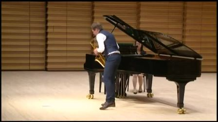 Astor Piazzolla Grand Tango Sergey Kolesov saxophone, Andrey Shibko piano