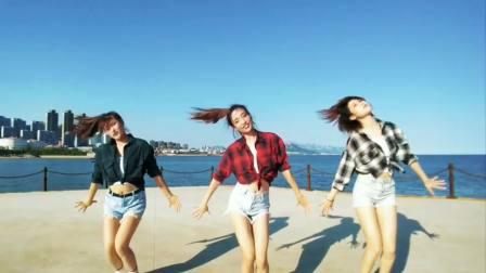 好看的爵士舞 超美青岛海边舞蹈《SHOW》