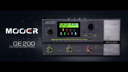 Mooer GE200试听 Sound Demo