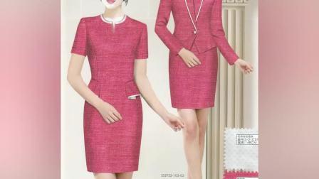 北京职业装公司--OL办公室新款女式套装订做