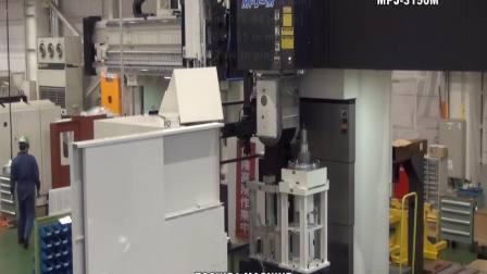 龙门五面加工中心 MPJ-3150M  东芝机械 英文版