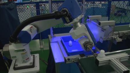 2D3D视觉机器人自动分拣系统设备视频(2016社内展 东芝机械) 英文版