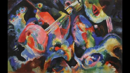Wassily Kandinsky 瓦西里·康定斯基 (1866 - 1944) Expressionism Abstract Art Russian