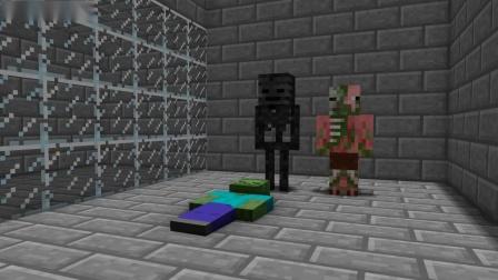 我的世界动画-怪物学院-死亡奔跑-TellBite