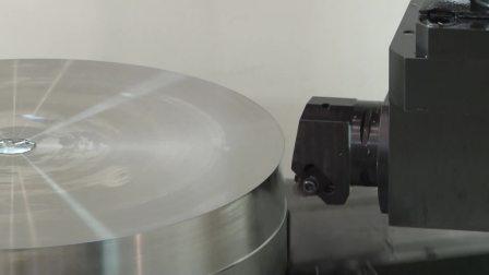 航空设备部品超耐热合金INCONEL718 高效率加工方法数控立车TUE-100