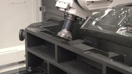 自動車部品用プレス金型加工における高効率化技術 門形マシニングセンタ MPJ-2640M (ソリューションフェア2017 東芝機械)