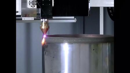 (ギカイ)_大型金属3D積層造形装置(レーザーデポジション方式装置) (ソリューションフェア2017 東芝機械)TRAFAM追加