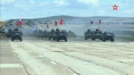 2018年中俄蒙三国大阅兵