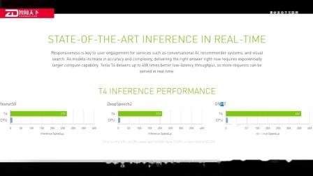功耗仅75W!Nvidia宣布推出基于图灵架构的Tesla T4显卡