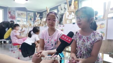 邵世美术培训机构电视节目专题