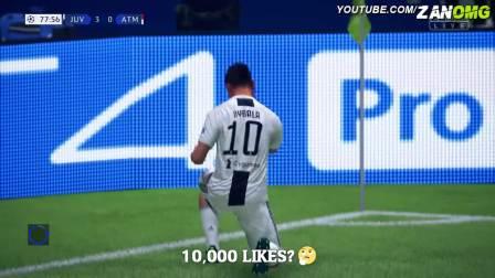 【GON】FIFA19 角球直接破门教程