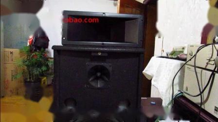 一款发烧级进口钛膜号角高音喇叭驱动头高音效果实测