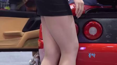 180719-22 2018 首尔汽车沙龙 韩国美女模特 车模 고설아(高雪娥)