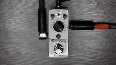 自嗨神器单块,MOOER Groove Loop循环录音鼓机效果器试听