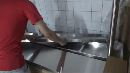 切配打包台安装视频-慕玛披萨