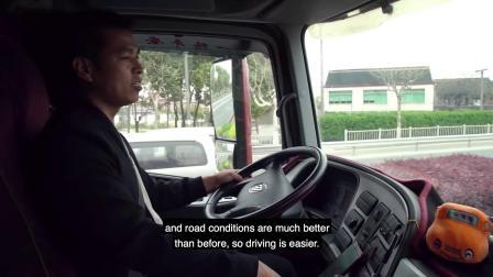 3本驾照3辆卡车200万公里路,这位老司机和17个国家的司机站到了一起
