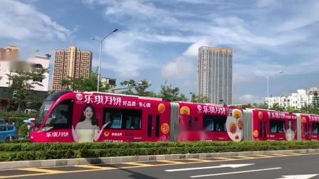 深圳有轨电车助力乐琪月饼中秋推广,形成强大的宣传攻势