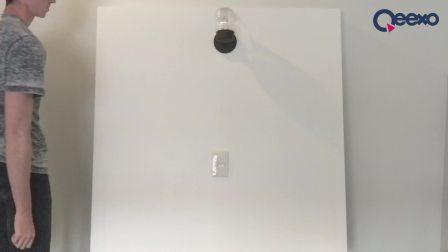 Qeexo智能墙壁 (Qeexo Interactive Wall)