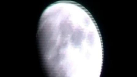 娄底市商业月球探测卫星娄星三号卫星在月球大气层绕月轨道飞行拍视频上传回娄底市,