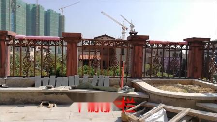中信凯旋城别墅4301栋铝艺阳台护栏