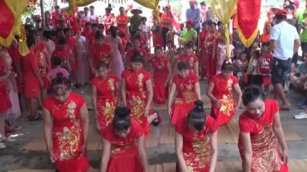 2018年定安县龙州乡热烈欢迎上屯村出嫁女喜回娘家大团聚