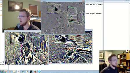 OpenCV with Python 10 - Edge Detection and Gradients
