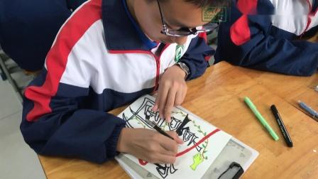 潍坊美加实验学校迎国庆
