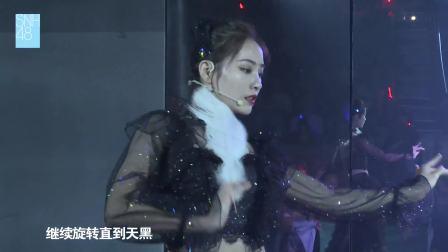 许佳琪化身《黑天鹅》 追逐新的明天 SNH48 TOP16公演 181002