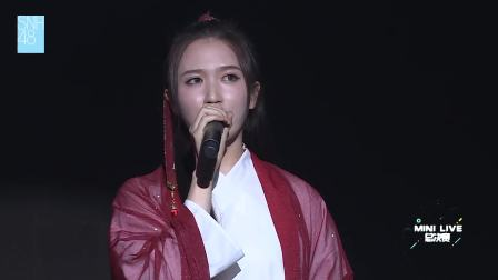 吴哲晗 《画心》 SNH48 Mini live决赛特殊公演 181005