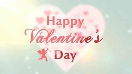 浪漫情人节婚礼心形照片拼图动画求婚告白祝福邀请函片头AE模板