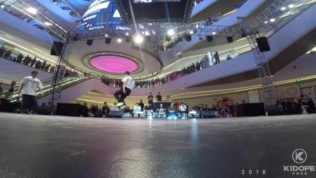 R16 China 2018 世界街舞大赛中国赛区成人组总决赛 仔仔 VS Gumbull