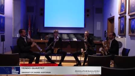 Quatuor a Cordes en sol min Op10 by Claude Debussy  -Yendo Quartet -#adolphesax