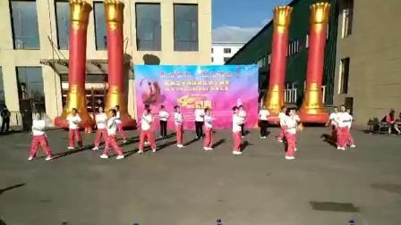 太子河区建区40周年广场舞汇演振兴社区《火了火了火》