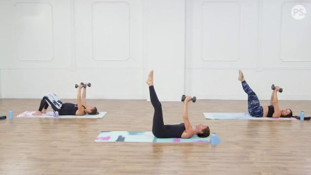 普拉提40分钟核心、力量锻炼 【POPSUGAR Fitness】