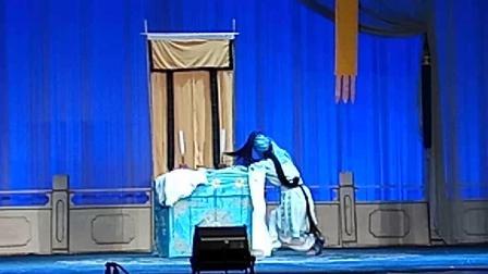 """人民剧院,《焚香记》""""打神告庙"""",敫桂英~張静饰,天门市花鼓剧院VID_20181022_133127"""
