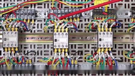 带电流表和互感器的电动机控制