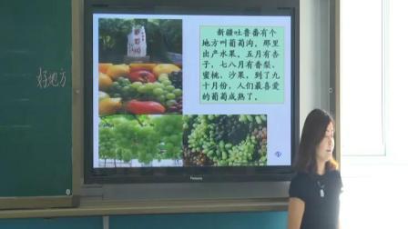 二年级上册第11课《葡萄沟》陕西