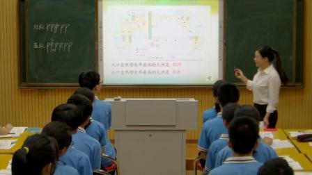 人教版初中地理七年级上册第一节《人口与人种》获奖课教学视频