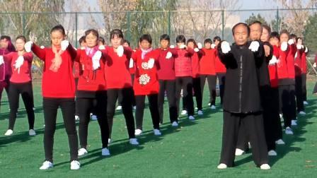 山东百万人太极拳展演临淄齐陵分会场2018.11.10日