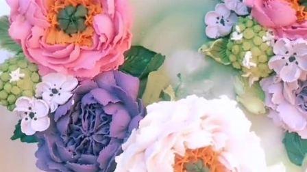 韩式裱花蛋糕~美美哒