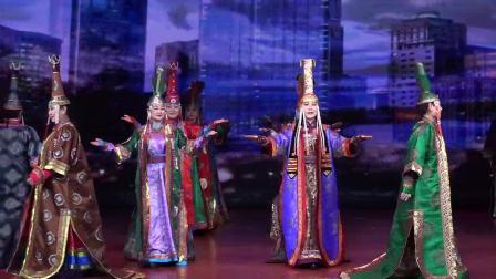 传统蒙古族服饰《锡林郭勒大草原》内蒙古锡林郭勒盟诺敏艺术团