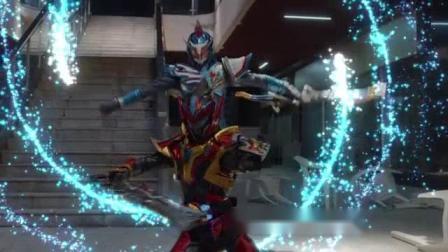 (小敏姐上传)两位猎铠合作发动必杀技,炎冰霹雳