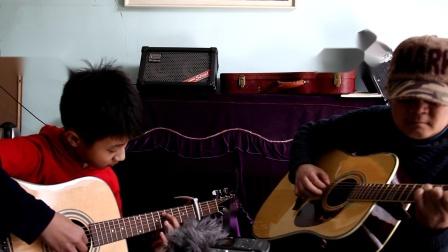 与曹同学的双吉他练习