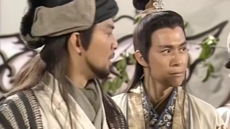 天龙八部:乔峰对战鸠摩智,降龙十八掌一出,立马击败国师